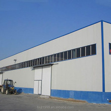 Low cost warehouse construction building construction prefab warehouse