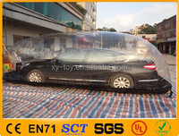 Exhibition bubble tent/ inflatable car cover,inflatable hail proof car covers,Inflatable car protection