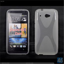 X Line TPU Smooth Surface Soft Skin Case Cover for HTC Desire 601(Zara) P-HTCDESIRE601TPU002