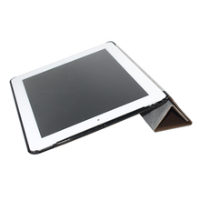 Flip case for ipad3 OEM/ODM 10inch case for ipad 4 Good quality PU tablet case