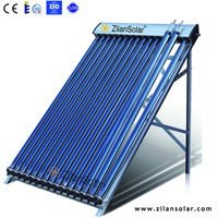 solar thermal vacuum tube heat pipe solar collector
