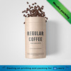 recyclable paper cardboard tube for coffee beans
