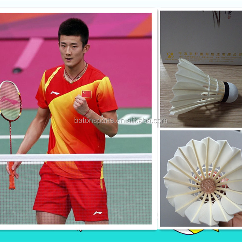 Super grade cigu duck feather badminton as RSL Silver badminton shuttle cocks for indoor sport
