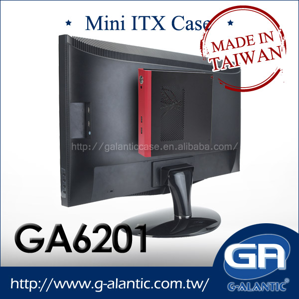 GA6201 Mini ITX PC Case for HTPC Branded Desktop Computer