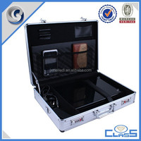 Professional fashion plastic computer carrying instrument storage case