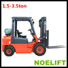 wider view, effectively increased operation safety 1.5ton Internal Combustion Engine Powered Counterbalanced Forklift