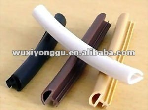 Wooden door frame seal