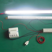 2012 most popular 4' led t8 tubes light fixture replacement fluorescent