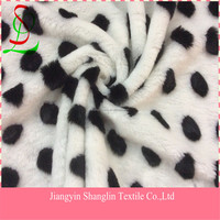 Dots knitted fabric for garment,overcoat