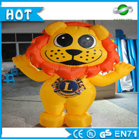 6m high inflatable cartoon\inflatable cartoon animal\outdoor giant inflatable lion cartoon character