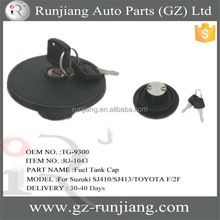 Stock Sale !!! OEM NO.TG-9300 stainless steel caps for Suzuki SJ410/SJ413/TOYOTA F/2F car fueling system