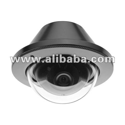 Weather-proof & Vandal-proof Mini Metal Dome Camera