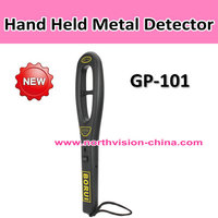 high sensitive ferrous and non-ferrous metro security detector with sound & light and vibration alarm