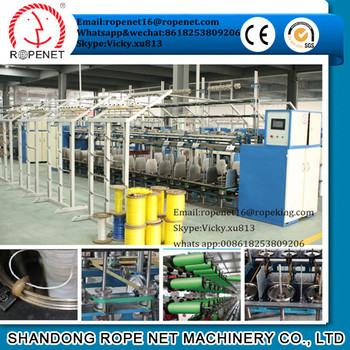 pp yarn ring twister from Shandong Rope Net machinery Vicky/cell: 8618253809206