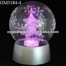 Christmas gifts with LED light and music box