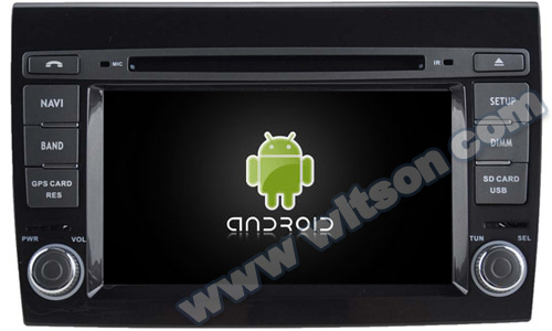 WITSON Android 4.4 car dvd For FIAT BRAVO WITH CHIPSET 1080P 8G ROM WIFI 3G INTERNET DVR SUPPORT