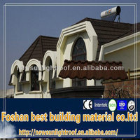 high quality synthetic spanish roof tile /new building materials 2013/architectural tiles