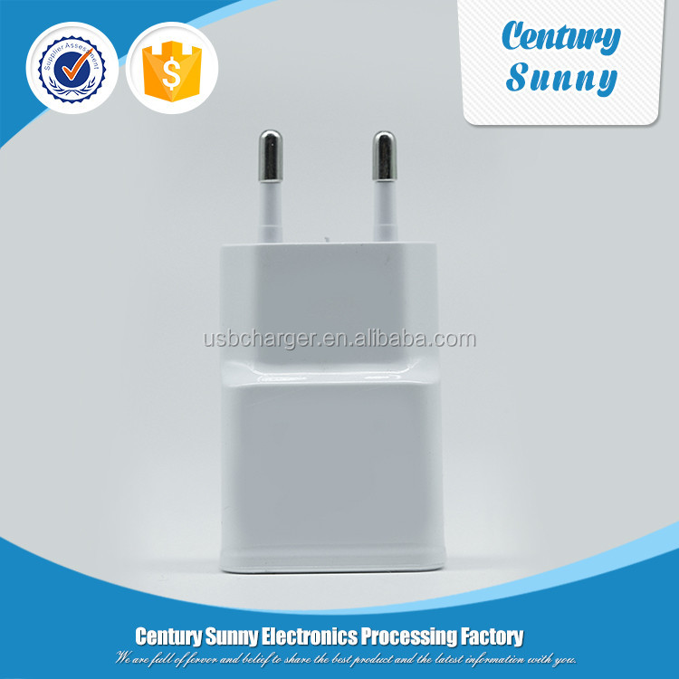 New products 1A USB home/wall charger for mobile phone accessory