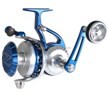 Colorful spinning reels fishing reel
