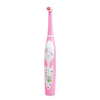 Pack of 2 brush heads mini kid musical toothbrush