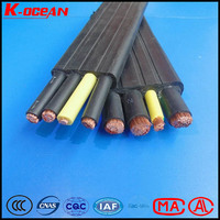 Tough PVC Insulated PVC sheathed Flexible Flat Ribbon Cable with High Tensile Strength