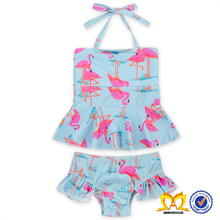 2017 Hot Open Girl Bikini Swimwear Model Cute Young Girl Bikini Kids Swimwear