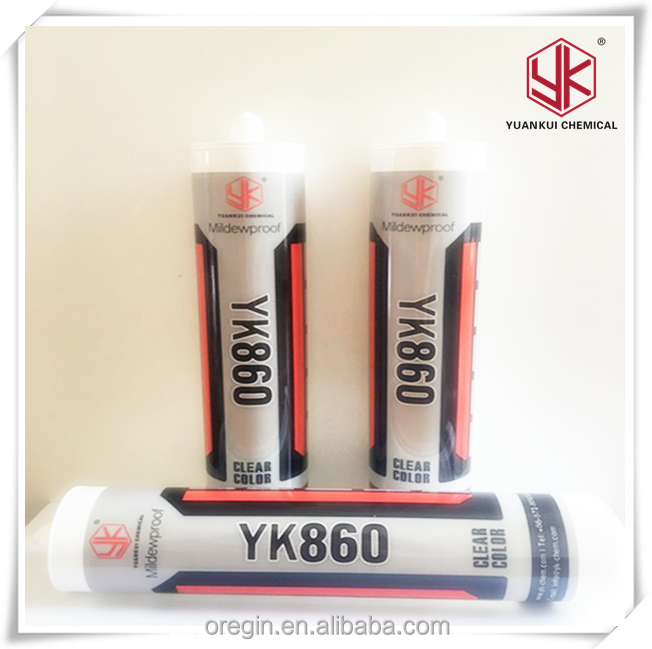 Neutral Silicone Sealant supplier/ kitchen and bathroom silicone sealant supplier/ Mildew Resistant Silicone Sealant cartridge