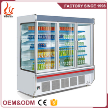 Junjian refrigeration display supermarket produce coolers air conditioner coolers / refrigerator for supermarket