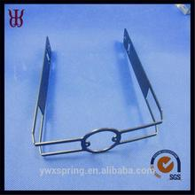 zinc-plating spring clips fasteners for LED lamp