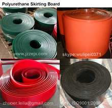 conveyor belt polyurethane skirting board,poly urethane skirt,polyurethane wear strips