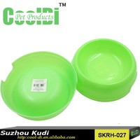 2015 New Design Plastic Pet Bowl dog bowl cat bowl