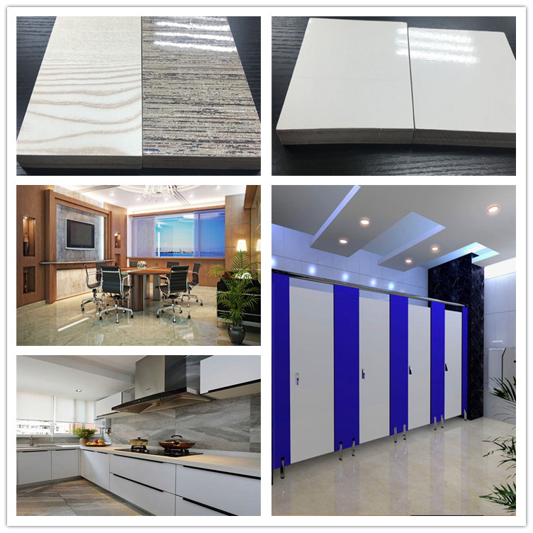melamine plywood waterproof hardwood plywood for decoration