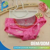 girls lace panty