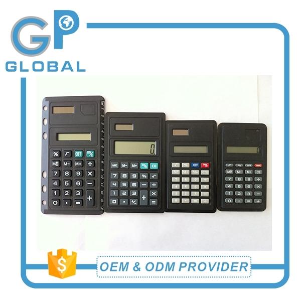 Top quality hot-sale mini leather organizer calculator