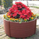 plastic box planter for street stackable planters raised garden bed