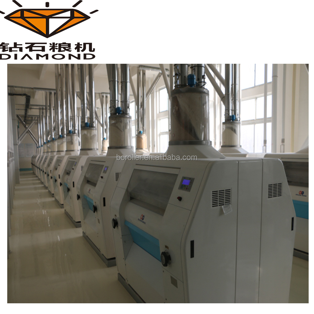 Flour milling plant wheat flour producing line