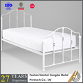 modern design wrought iron single bed