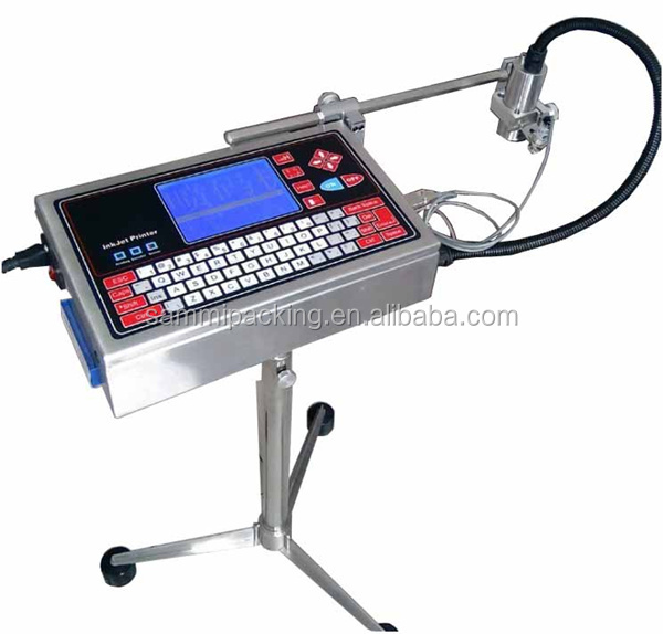 Factory price Digital Inject date and inkjet code machine/ automatic date code sign inkjet printing machine