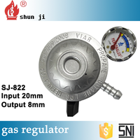 Super quality good material factory sale high quality natural gas pressure regulator adjustment