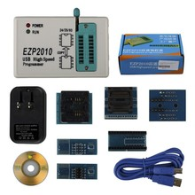 Car ECU Programmer Tool For Full Set EZP2010 Plus 6 Adapters Updated EZP 2010 25T80 BIOS High Speed USB SPI Programmer