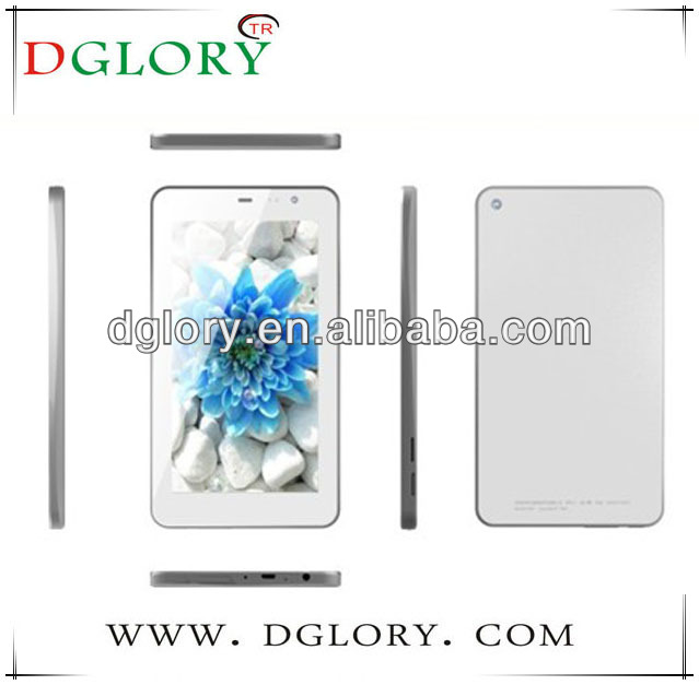 DG-TP6.5-01 new 6.5 inch MID MTK6572 dual core 512MB/4GB 3G phone call GPS bluetooth