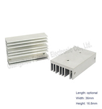 aluminum extrusion radiator fin pin cold forging heat sink tube heatsink