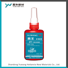 271 red colors Anaerobic Adhesive for Thread locker ideal for M36 below screw