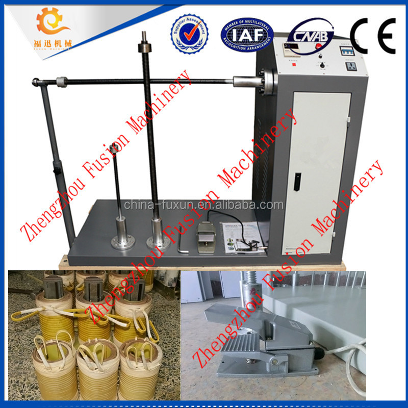 CE APPROVED rope winding machine/capacitor winding machine