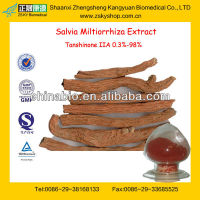 GMP Factory Supply High Quality Radix Salviae Miltiorrhizae Extract
