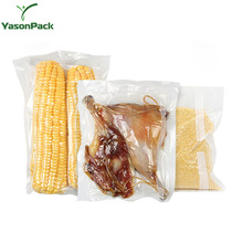 Heat sealable vacuumed packing plastic cooked food frozen chicken packaging products bag