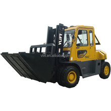5 Ton Forklift Truck With Cabin With Tipper Bin