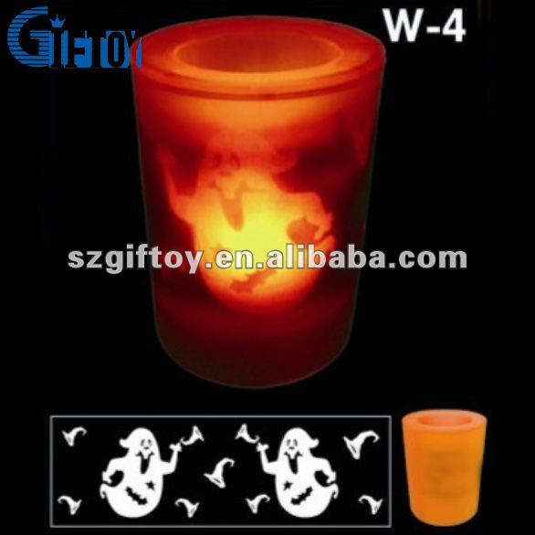 ABS Led Candle in Halloween image