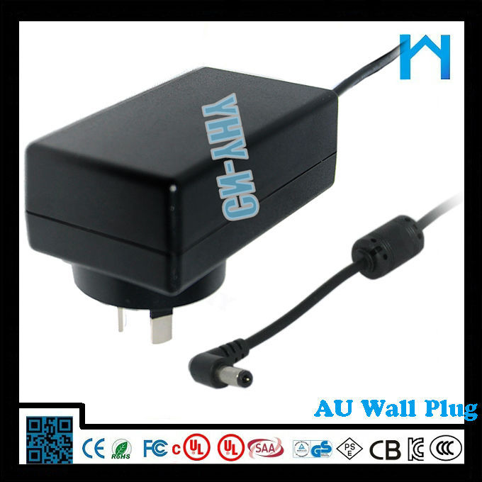 100 volt dc power supply 9V 2A power ac/dc adapter electric power transformer 18W CE UL cUL ROHS