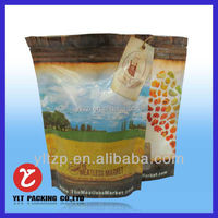 NY/PE ziplock bags for fruit packing